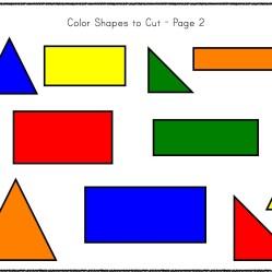 Kindergarten 2-D Geometry Pack