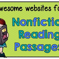 Free websites for nonfiction reading passages