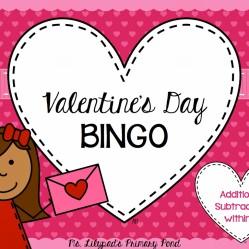 Valentine's Day Bingo Games