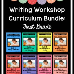 Writing Workshop Mentor Texts for 1st and 2nd Grade