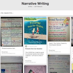 Resources & Ideas for Teaching Personal Narratives to K-2