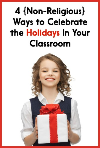 Read this post for 4 different ways to honor the holidays in your classroom