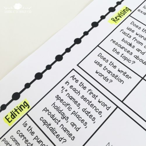 Do your students know the difference between revising and editing? This post explains why it matters - and has ideas for teaching them the difference! The fruit salad activity for first or second grade is the best!
