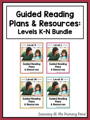 https://www.teacherspayteachers.com/Product/Guided-Reading-Activities-and-Lesson-Plans-Levels-K-Through-N-BUNDLE-2845580